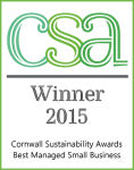 Cornwall Sustainability Awards Best Managed Small Business
