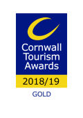 Cornwall Tourism Awards gold award for Galmping and Alternative Accommodation