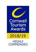 Cornwall Tourism Awards Highly commended for Wildlife Friendly Business