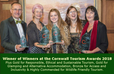 Railholiday - Winner of Winners at Cornwall Tourism Awards 2018