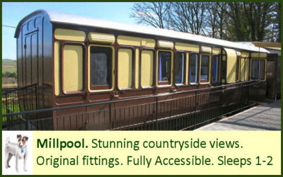 Millpool - a holiday carriage for wheelchair users
