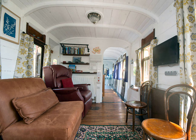 Millpool a fully accessible holiday carriage