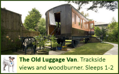 The Old Luggage Van