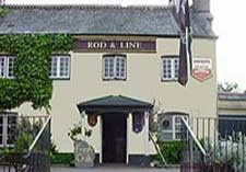 The Rod & Line pub in Tideford