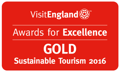 Railholiday - winners of Visit England Sustainable Tourism Award 2016